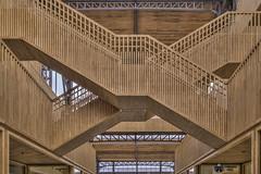 X wood stair