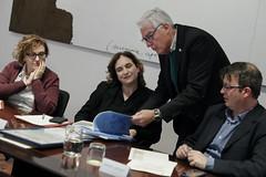 dt., 25/02/2020 - 17:34 - Barcelona 25.02.2020 Trobada amb la Junta de la Fundació Barcelona Comerç.   Foto: Laura Guerrero/Ajuntament de Bcn.