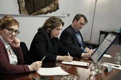 dt., 25/02/2020 - 17:27 - Barcelona 25.02.2020 Trobada amb la Junta de la Fundació Barcelona Comerç.   Foto: Laura Guerrero/Ajuntament de Bcn.