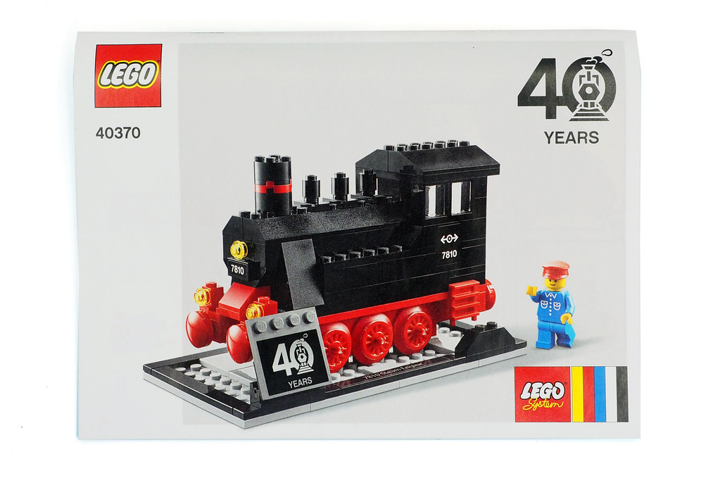LEGO Trains 40th Anniversary (40370)063