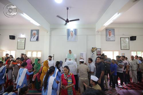 Namaskar at Rajkot Bhawan