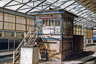 BR Crewe Station A Signal Box on 17th August 1986