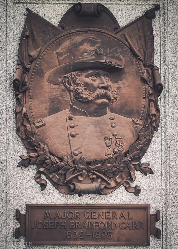 Maj. Gen. Joseph Bradford Carr (1828-1895)