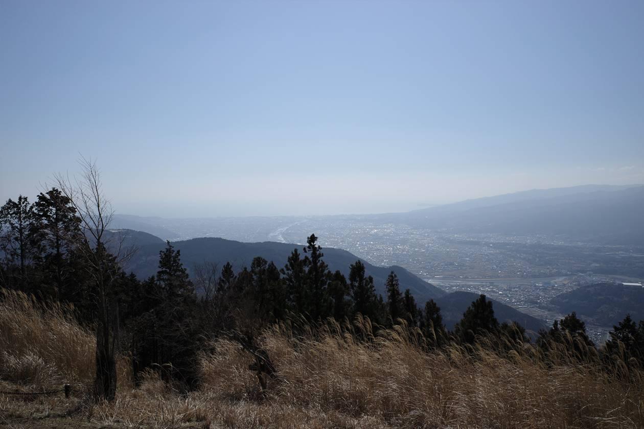 高松山山頂から眺める海
