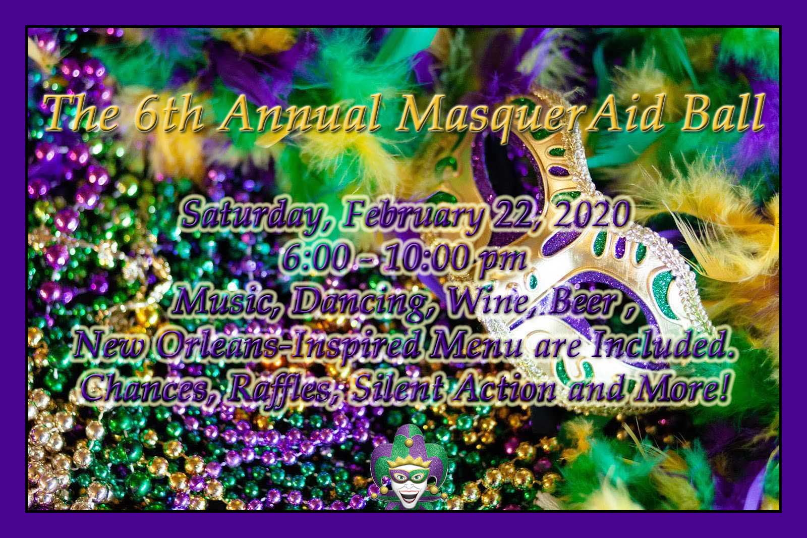 2020 MasquerAid Ball