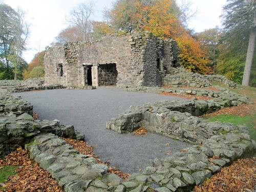 Huntly Castle, Inner Portion