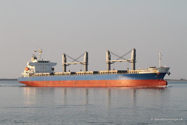 Ship. Emerald Enterprise 9701023