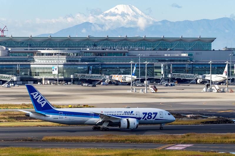 All Nippon Airways Boeing 787-8 Ja818A