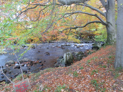 River Deveron at Huntly Castle