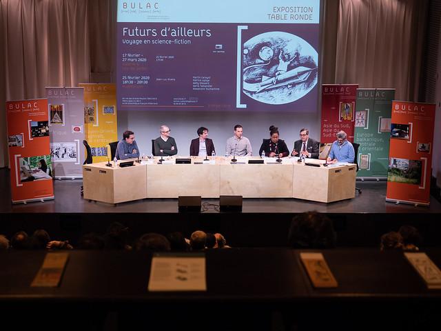 Futurs d'ailleurs : voyage en science-fiction