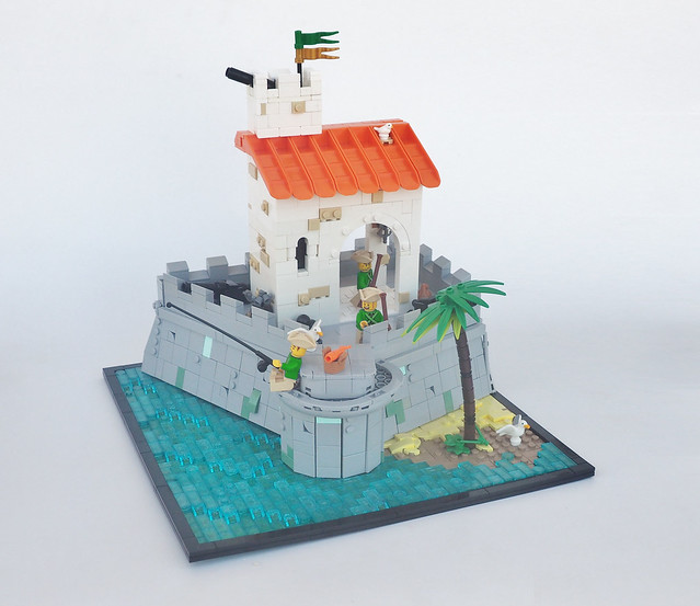 LEGO pirates imperial fort