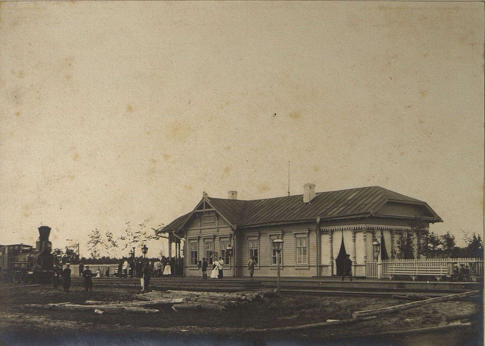 47. Железнодорожная станция