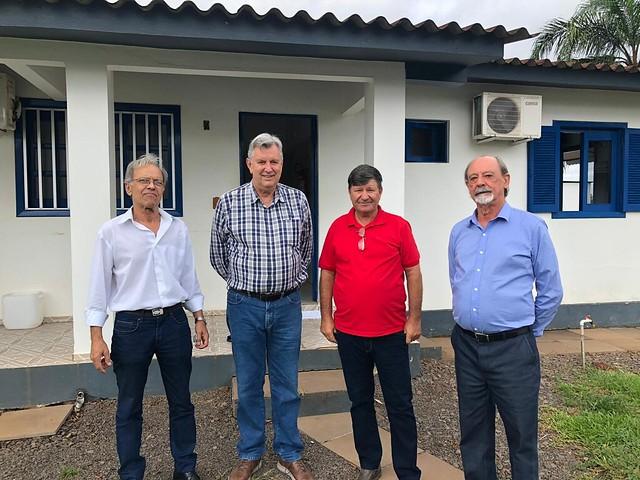 26/02/2020 Visita na Granja Bom Frango - proprietário Milton Stahl dos Santos