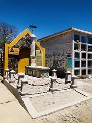 Tumba de Sir Francis Drake. Una de las sepulturas atribuida al pirata. Arica-Chile