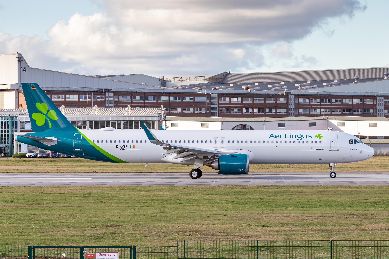 A321-253NX/LR Aer Lingus D-AVZP - EI-LRD MSN9187