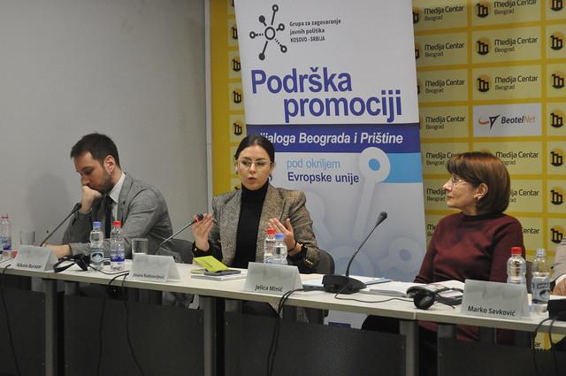 Prezentacija brošure: Perspektive tehničkog dijaloga između Beograda i Prištine