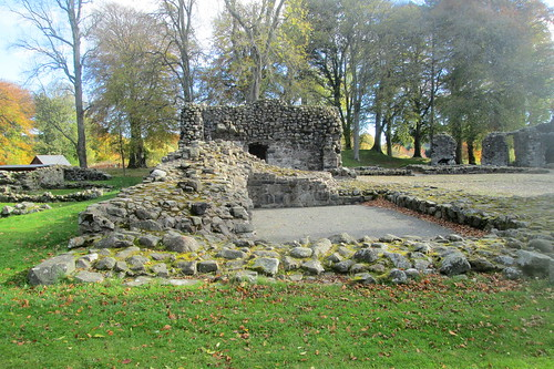 Remains, Huntly Castle