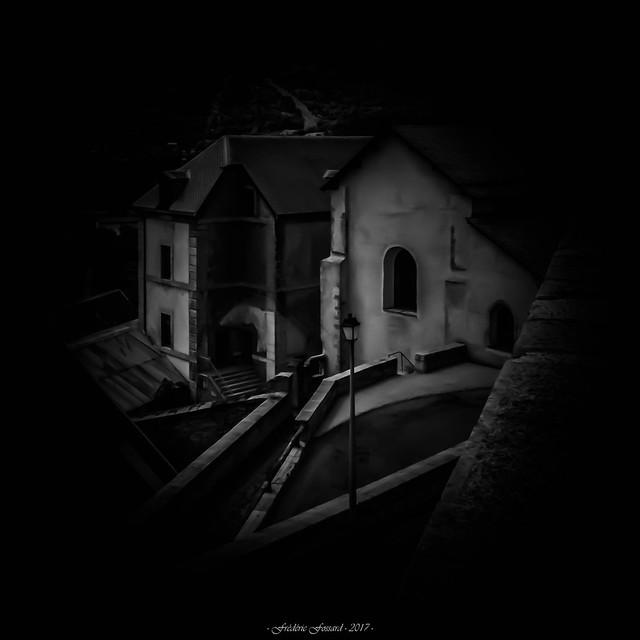 Clair-Obscur sur la Citadelle (N/B)