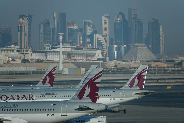 Doha airport view