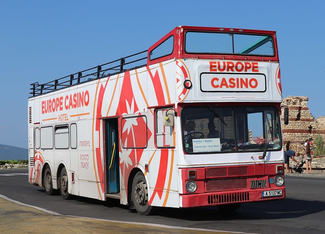 A5137MC Tri-Axle Ex.China Motor Bus Metrobus - Nessebar, Bulgaria