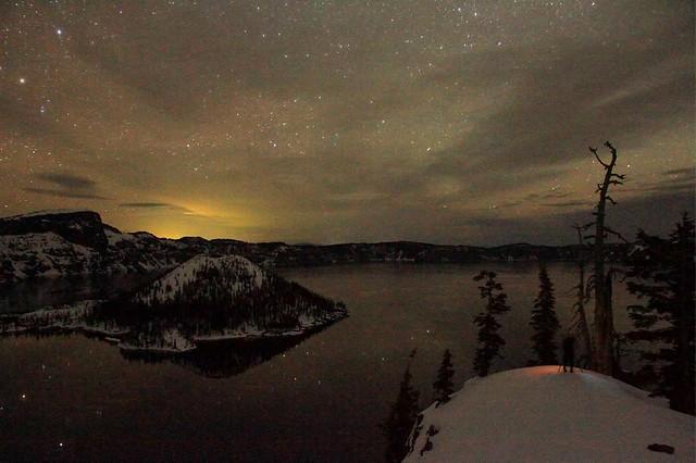 Stargazing at Crater Lake