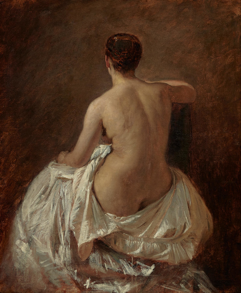 Tobias Edward Rosenthal «Nude Seen from the Rear»
