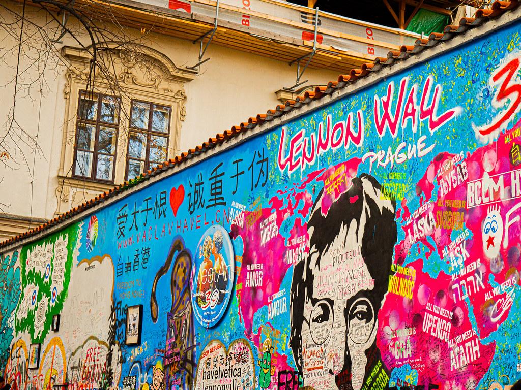Praha John Lennon Wall