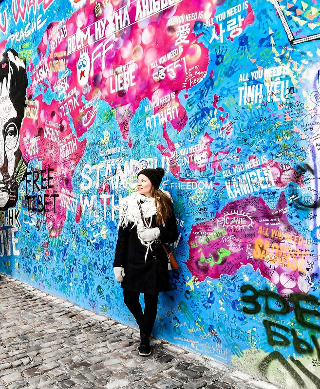 John Lennon Wall Praha
