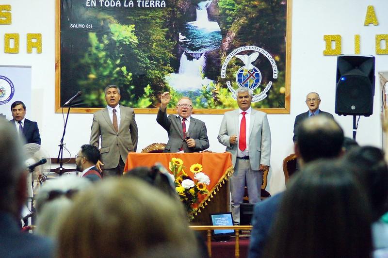 """""""Enviados a reconocer la tierra prometida"""" Culto Jueves en Molina"""