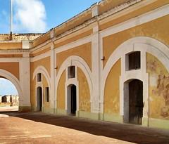 The barracks of El Moro