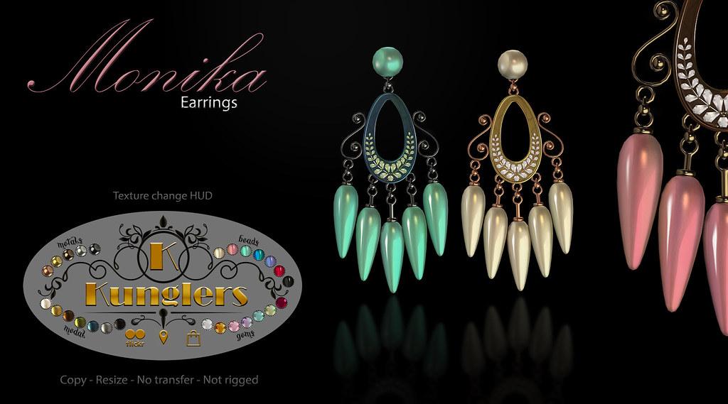 KUNGLERS – Monika earrings