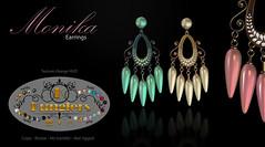KUNGLERS - Monika earrings