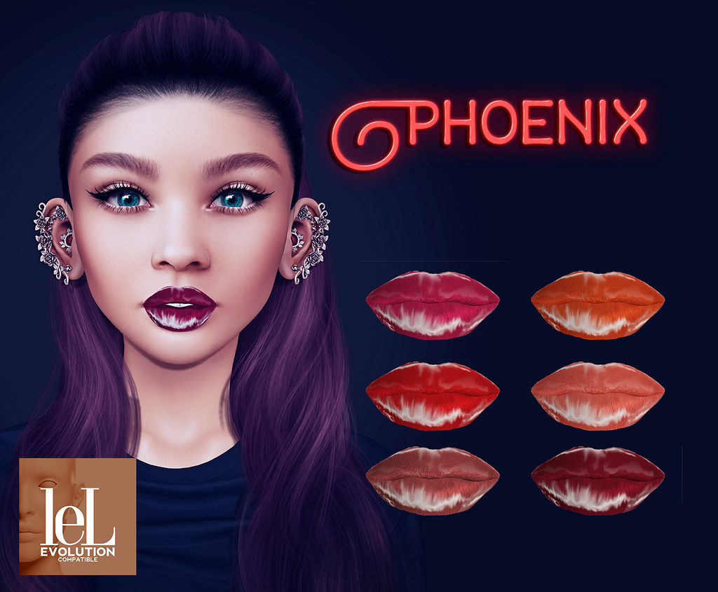 Voodoo – Phoenix Lelutka Evolution Ad