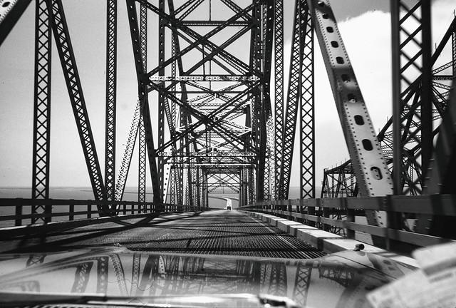 Found Kodachrome Slide -- Sunshine Skyway Bridge, Florida
