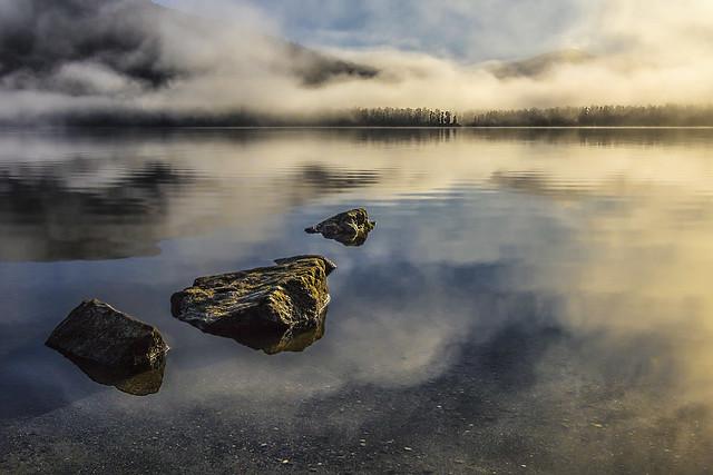 Horizonte_Neuseeland_Süd_Lake_Paringa