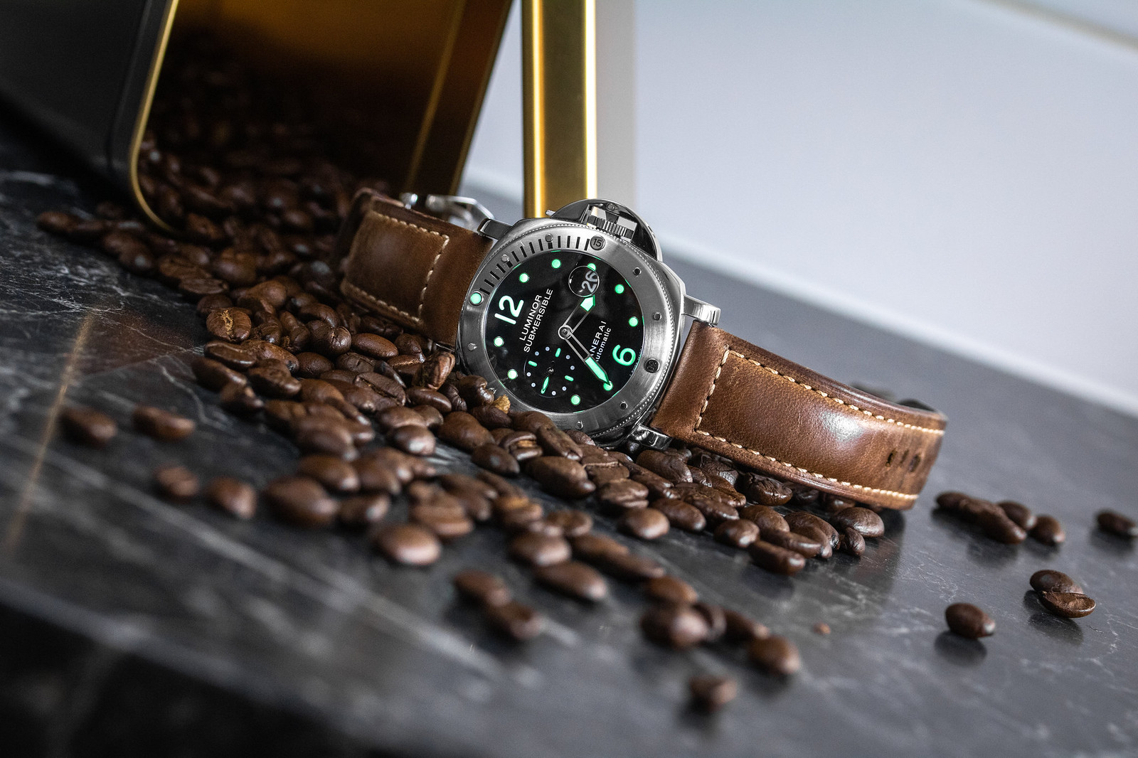 Panerai Submersible PAM024 Coffee