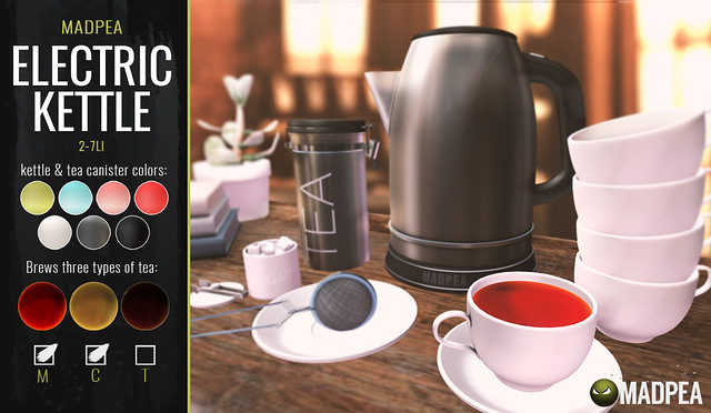A Brand New Premium Group Gift: MadPea Electric Kettle!