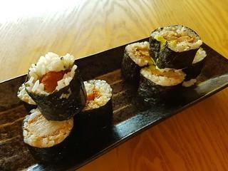 Katsu and Terichiki Avocado Sushi at Izakaya Midori