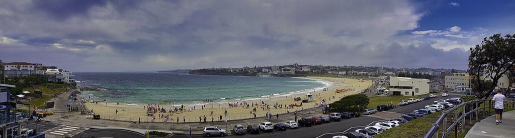 Bondi Beach - Morning Panorama