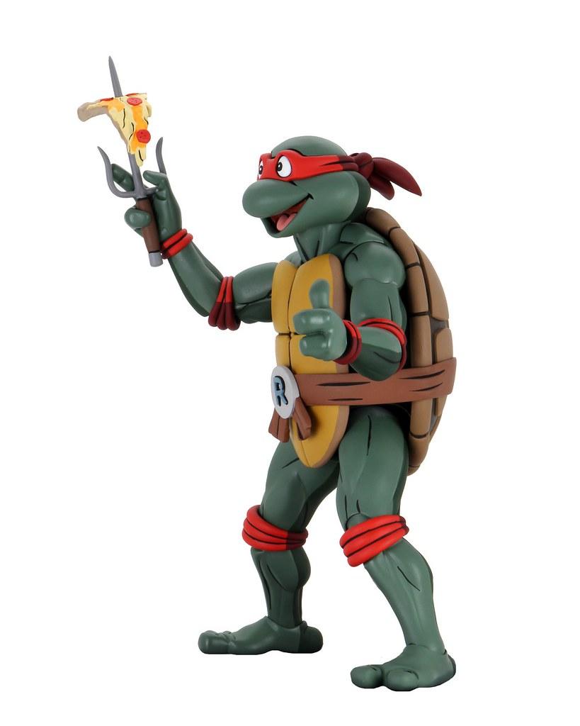 卡哇邦嘎~ NECA《忍者龜(動畫版)》超大拉斐爾 Super Size Raphael 1/4 比例可動人偶