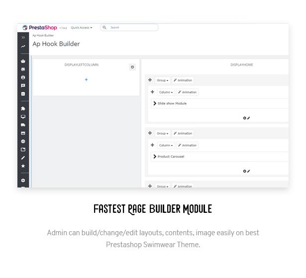 Fastest Page Builder Module