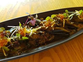Nasu de Agebitashi at Izakaya Midori