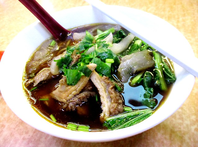 Stall No. 52 Sibu Central Market beef noodles special 1