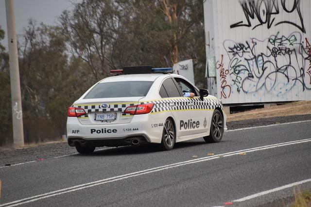 ACT Policing | Australian Federal Police | Subaru Liberty