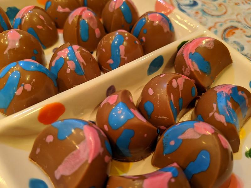 Five Spice Praline Chocolates