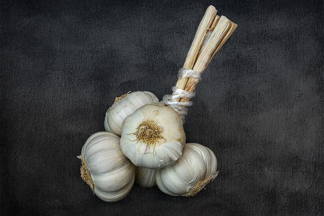 A Grappe of Garlic ...