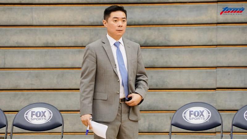 健行科大總教練劉孟竹。(記者賴柏安/攝)