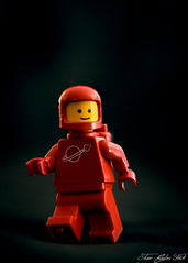 LEGO Minifig Red Space