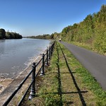 Walk by the River Ribble at Preston