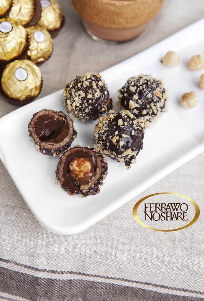 Ferrawro Noshare (Raw Vegan Ferreros)